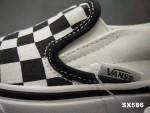 万斯VANS滑板鞋黑白格VN-OEYEBWW