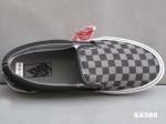 万斯vans滑板鞋 黑灰格VN-OEYEBPJ