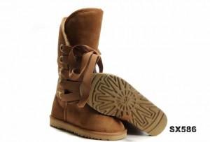 5818高筒靴栗色