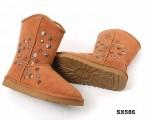 1858 中筒靴栗色