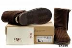 5819高筒靴潮巧克力色