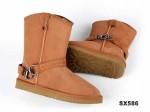1850 中筒靴栗色
