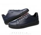 欧洲站小白鞋男女韩版真皮休闲百搭潮流白色板鞋子大码男鞋0018,尺码38-44