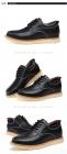 秋冬季男鞋真皮男休闲鞋内增高黑色马丁商务皮鞋潮流韩版板鞋棉鞋0708,尺码37-44(加棉,批款)
